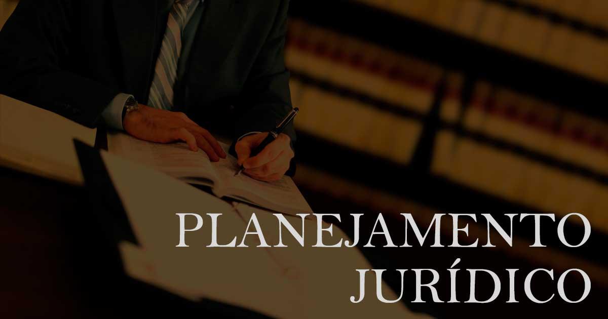 Planejamento jurídico